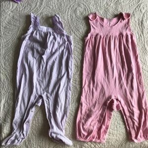 Baby Gap one pieces size 12M